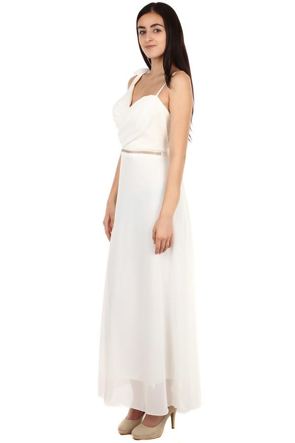 ff3710ea6308 Dlhé dámske večerné šaty na ples