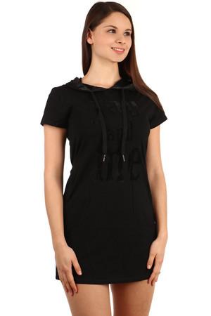 Dámske letné krátke tričkové šaty cfe83bf2197