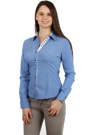 Dámska business košeľa - dlhý rukáv 75e2ee9f028