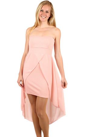 ffa142900de6 Dámske ružové spoločenské šaty m výpredaj