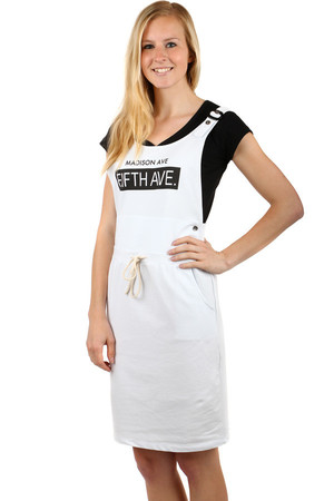 696e9eb03cff Krátke biele plážové letné šaty xs