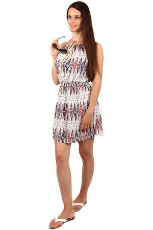 7e684b68ede6 Lacné dámske krátke biele bavlnené šaty xl
