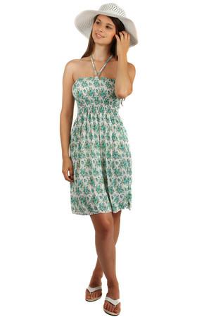 Dámske letné šaty s kvetmi 11892ab9c99