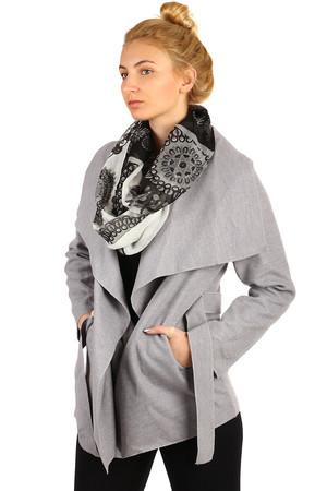 c12e2f6b26fc Lacné sivé dámske bundy a kabáty l