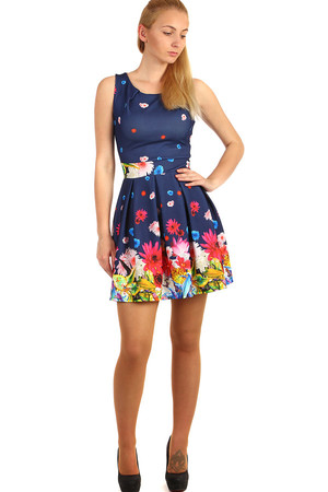 1f6cf843213d Modré športové letné šaty xl výpredaj