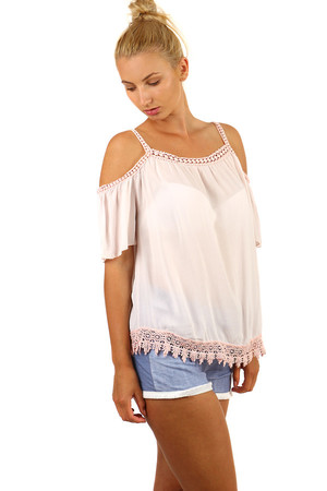 b5a576446204 Ružové dámske tričká
