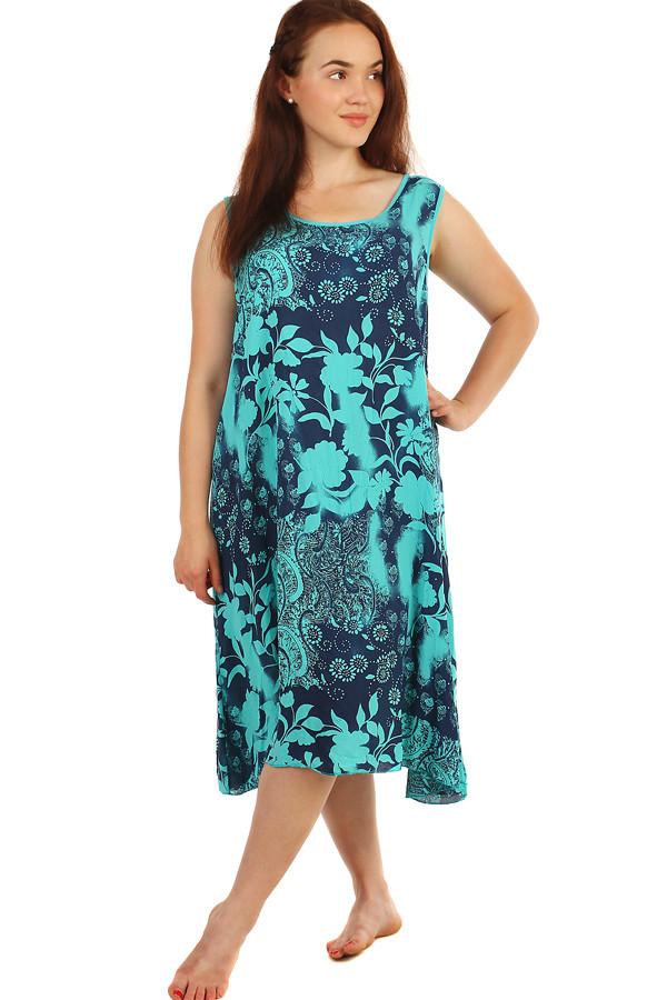e2fdf32d0fd2 Dlhé letné kvetinové šaty