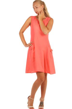 298229777c5b Lacné dámske midi oranžové elegantné letné šaty l
