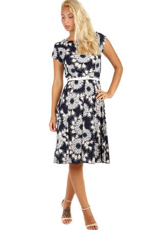Retro šaty s krátkym rukávom - aj pre plnoštíhle d2add2d4dd8