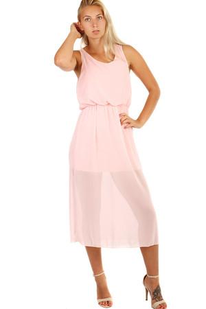7c2154098e39 Spoločenské šifónové šaty v 7 8 dĺžke na ples