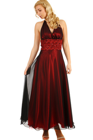 8874bba49abd Luxusné dlhé fialové spoločenské šaty m