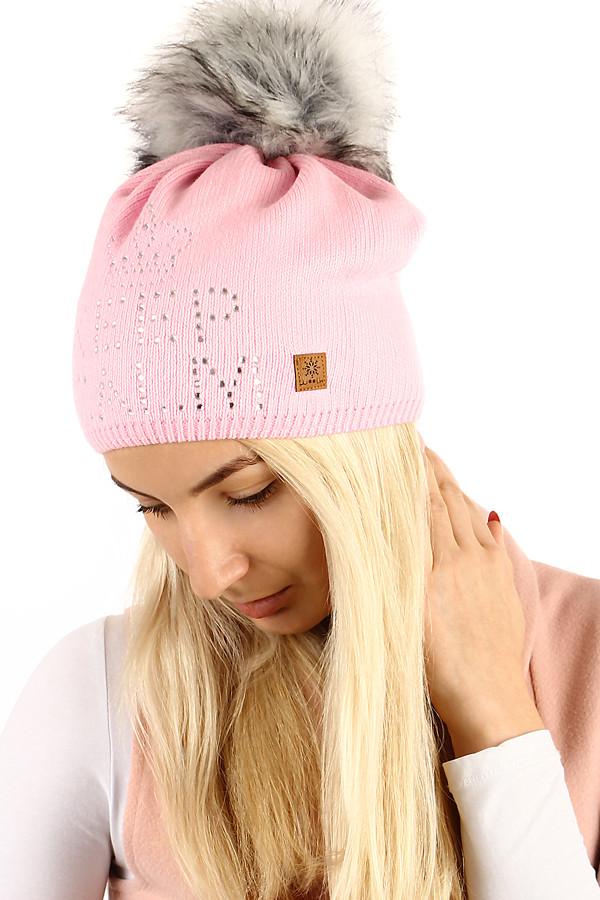 704d36495 Pletená dámska čiapka s nápisom z kamienkov a brmbolcom | Glara.sk