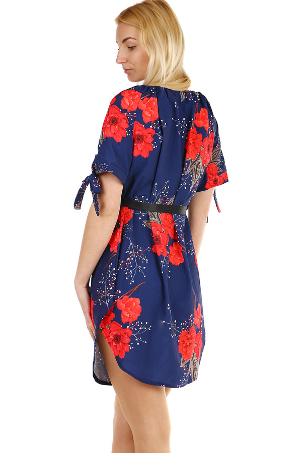 f00916c8d3f0 Letné dámske krátke šaty s odhalenými ramenami