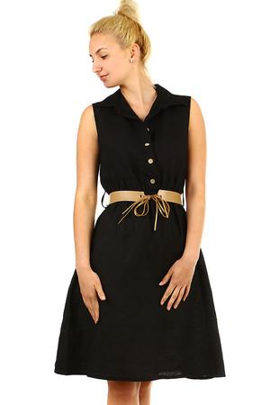 Čierne športové letné šaty s  5645bf40d8d
