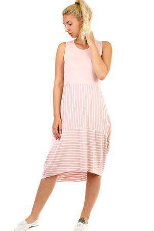 e5b2c4d97c25 Dámske dlhé ružové plážové letné šaty m výpredaj