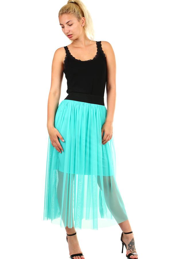 48db92b50b90 Dámska tylová dlhá sukňa