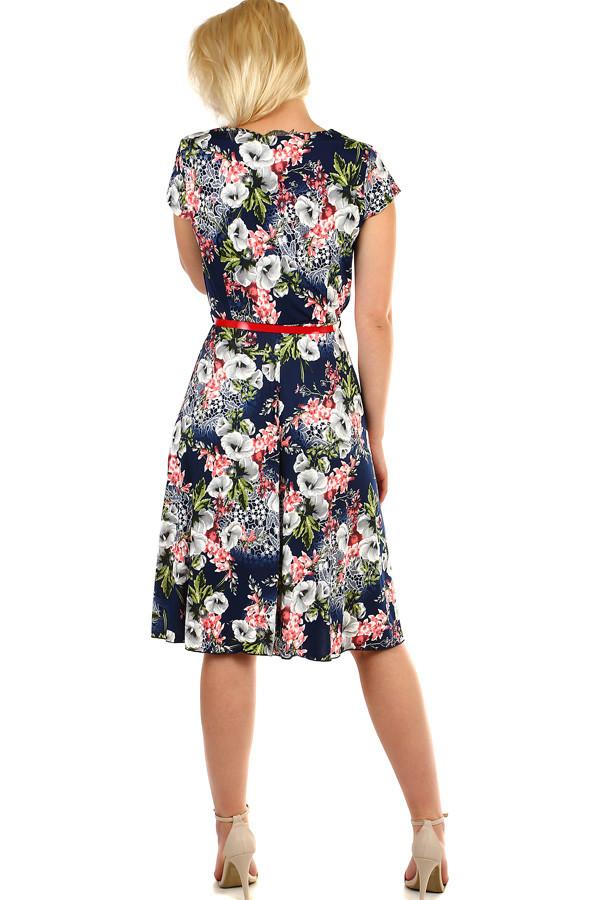 Dámske retro šaty s krátkym rukávom  3d078f62dbf