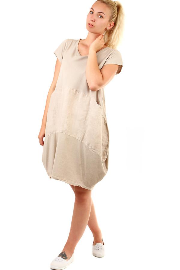 Voľné dámske letné šaty na pláž  2ef8e1ed885