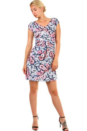 3251996287b0 Krátke zavinovacie dámske letné šaty