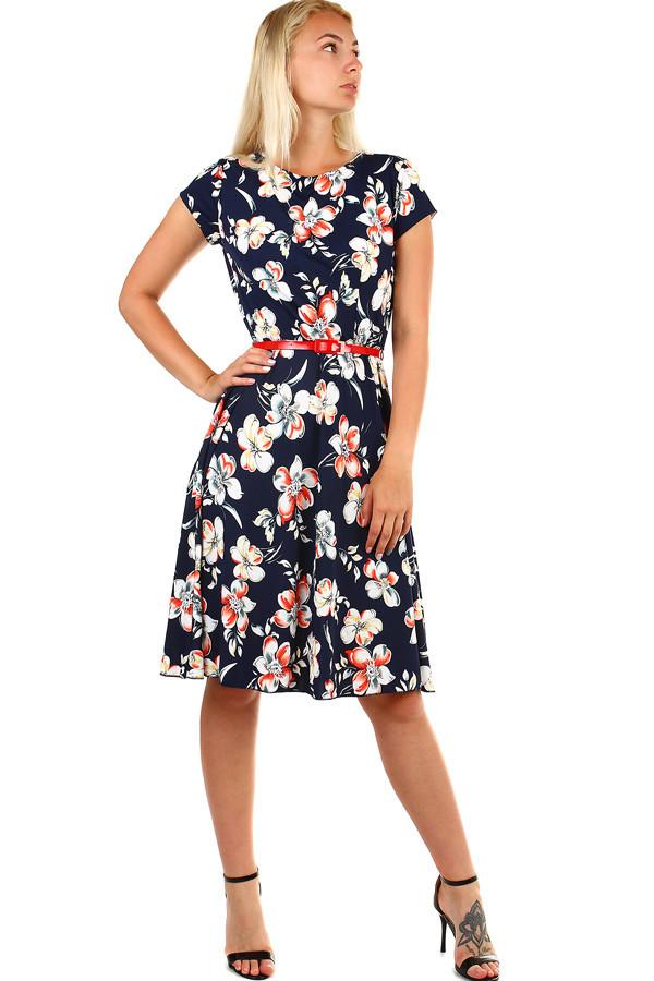 Dámske letné kvetované šaty  9f2f69b82e5
