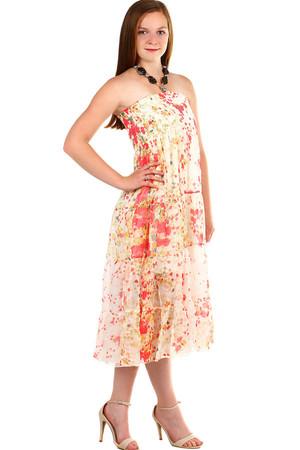 8e3876f308ad Červené plážové letné šaty l