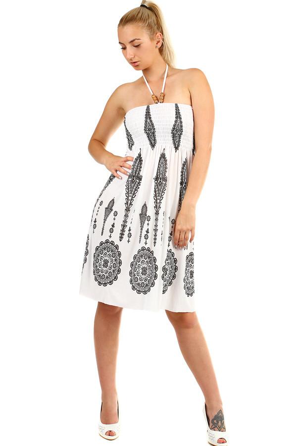 5e80941f5986 Dámske jednofarebné letné plážové šaty bez rukávov