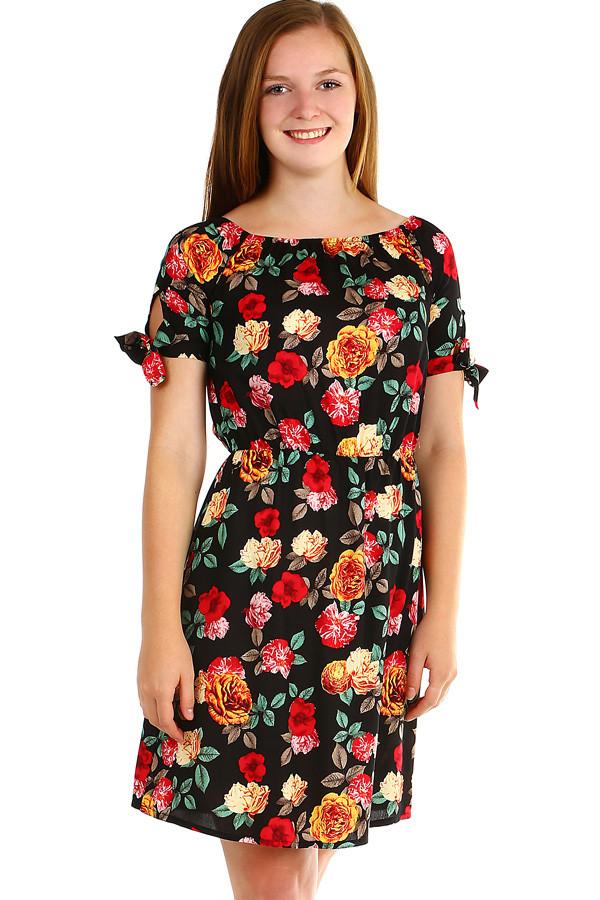 251566d69806 Dámske letné šaty s kvetinovým vzorom