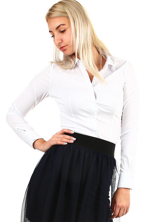 b2d1771d9d08 Dámska elegantná biela košeľa