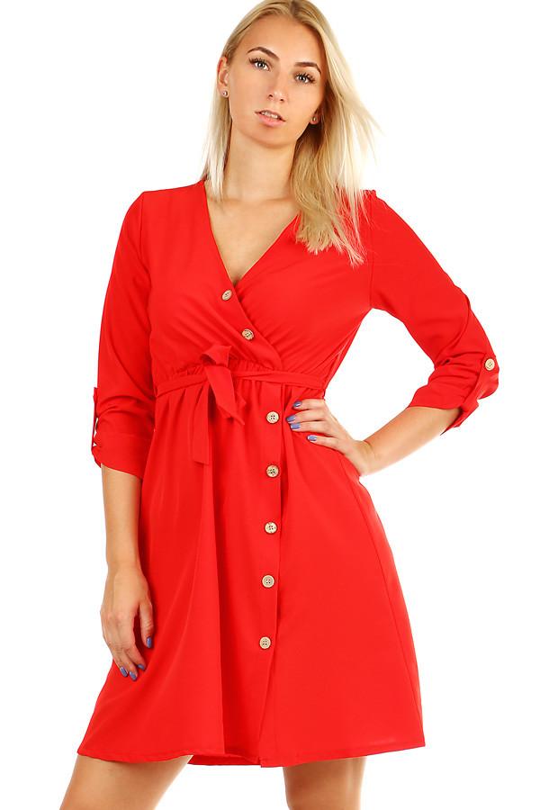 Zavinovacie dámske šaty  d4428fe2e69