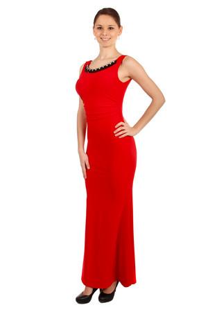 Dlhé plesové šaty s aplikáciou 57c3c1759da