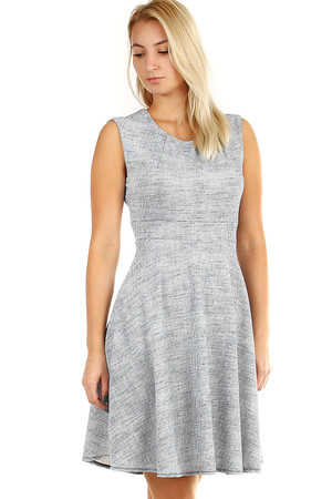 e2bc1fae54b9 Krátke sivé spoločenské šaty l novinky