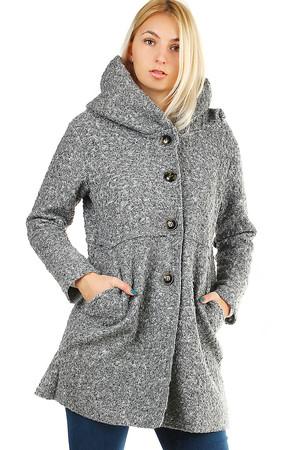 Sivé jesenné kabáty novinky  ff76a320157