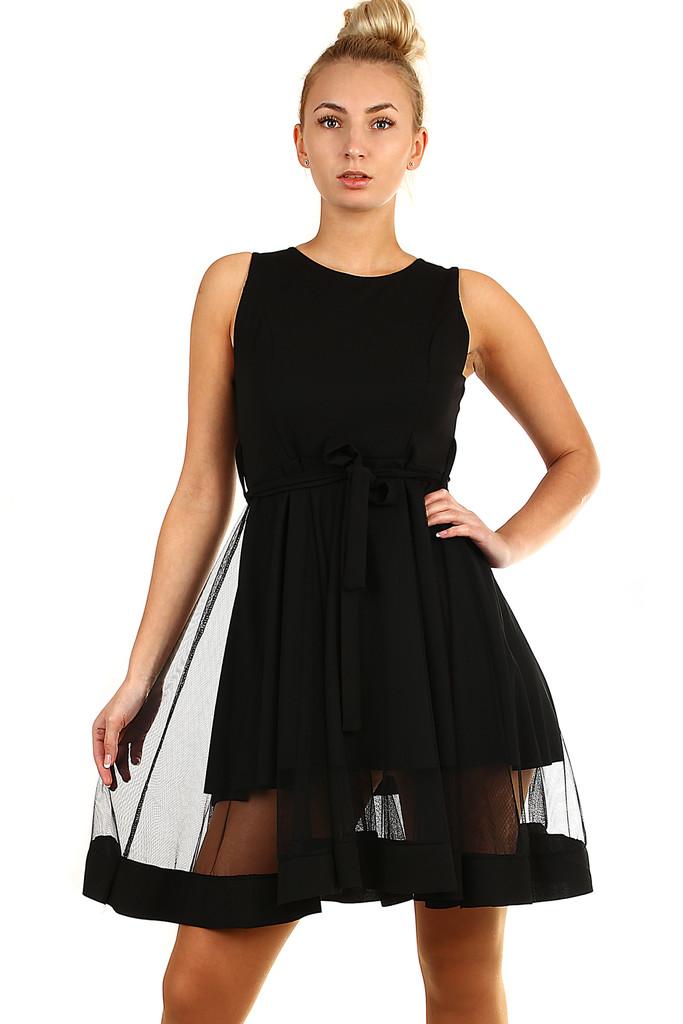 360738498 Krátke spoločenské šaty s tylom | Glara.sk