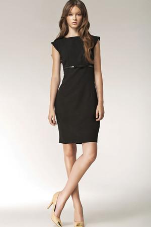 9691f492906 Krátke čierne spoločenské šaty xs