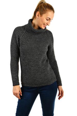 eae62636a480 Luxusné sivé dámske svetre a pončá