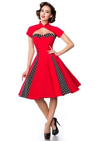 f89772dc23ee Dámske červené spoločenské šaty