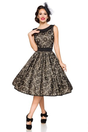 5c0fe7149b0 Retro dámske šaty s čipkou