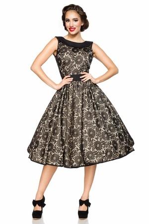 d3471a9c1ac Retro dámske šaty s čipkou