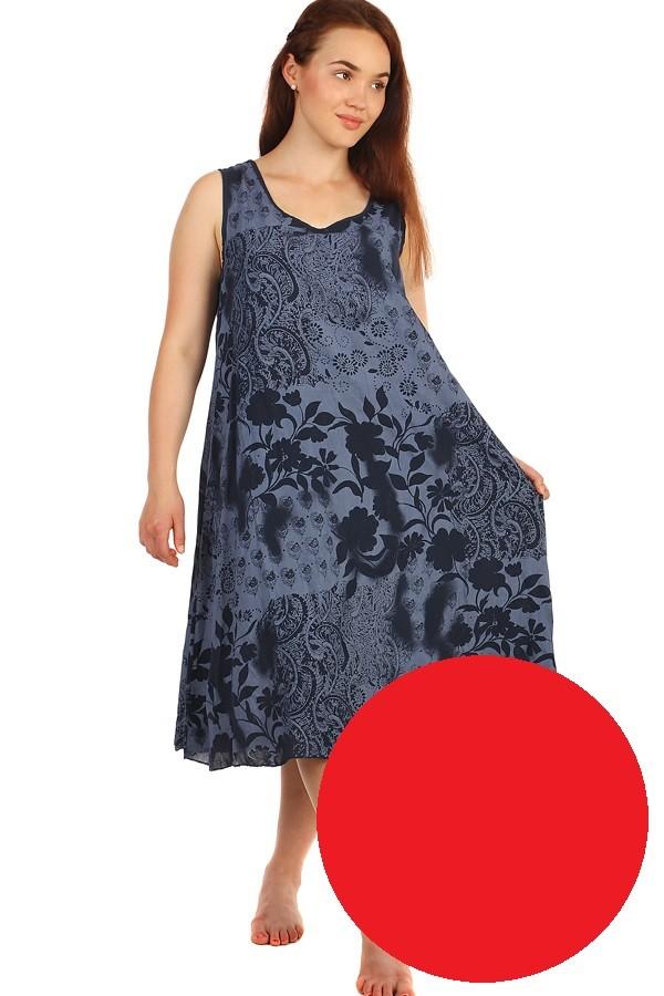 f5143f6b913d Dlhé letné kvetinové šaty