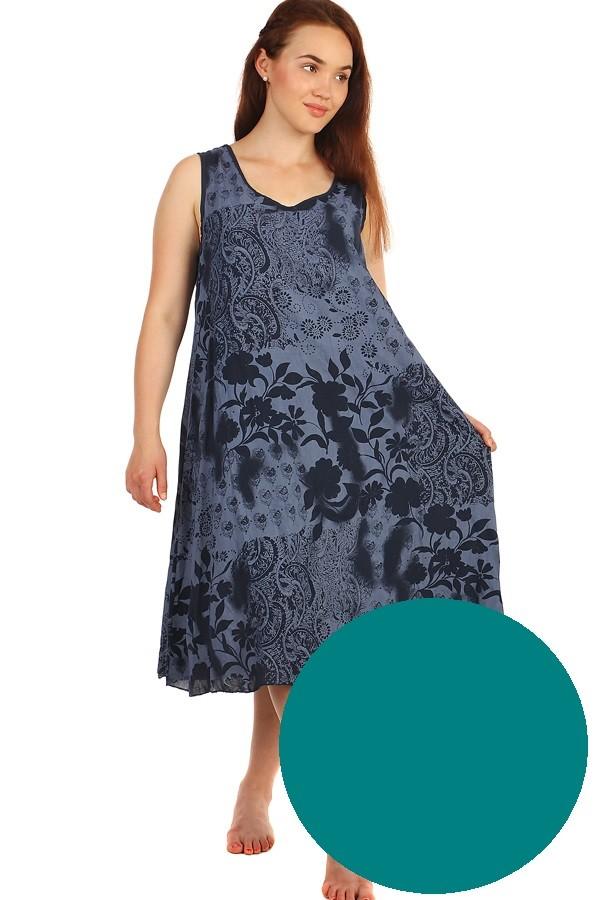 626dd579affd Dlhé letné kvetinové šaty