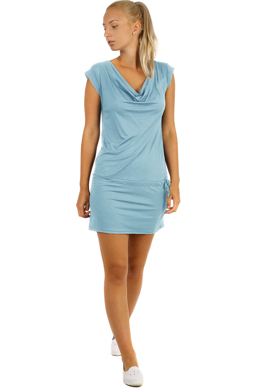 b4b767f01717 Krátke dámske športové šaty na leto