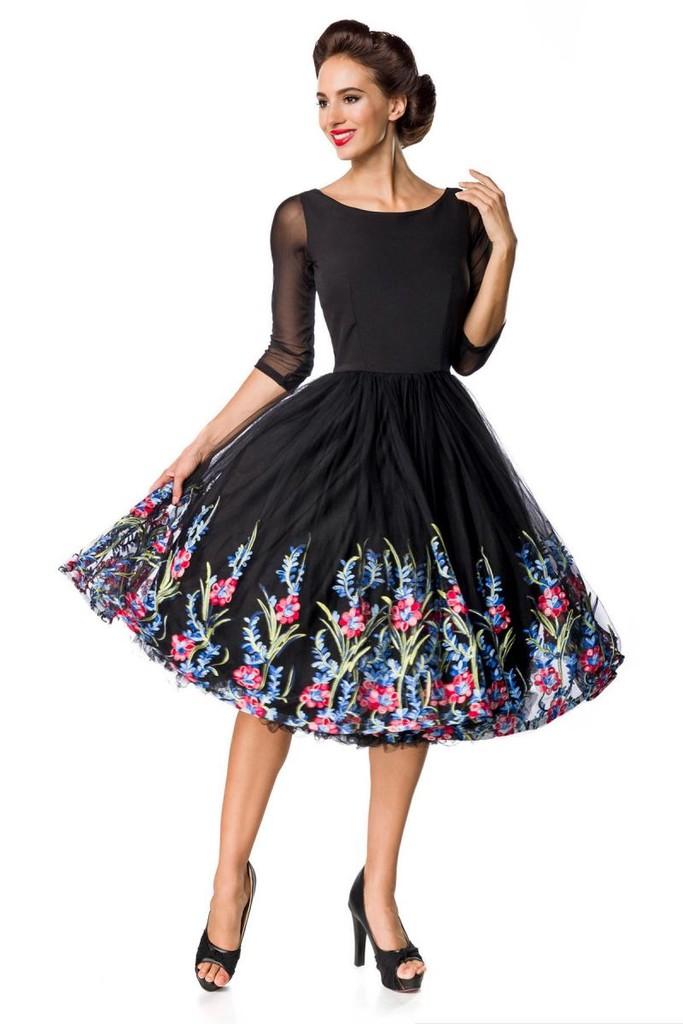e6f30ba868 Luxusné vyšívané vintage šaty
