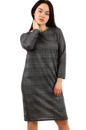 f531193082 Krátke voľné zimné šaty s dlhými rukávmi