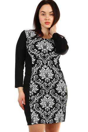 06fa091f979b Dámske krátke čierne spoločenské šaty