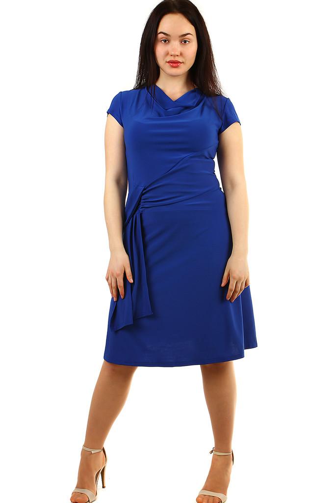 aab18d1e6396 Dámske spoločenské šaty s krátkym rukávom