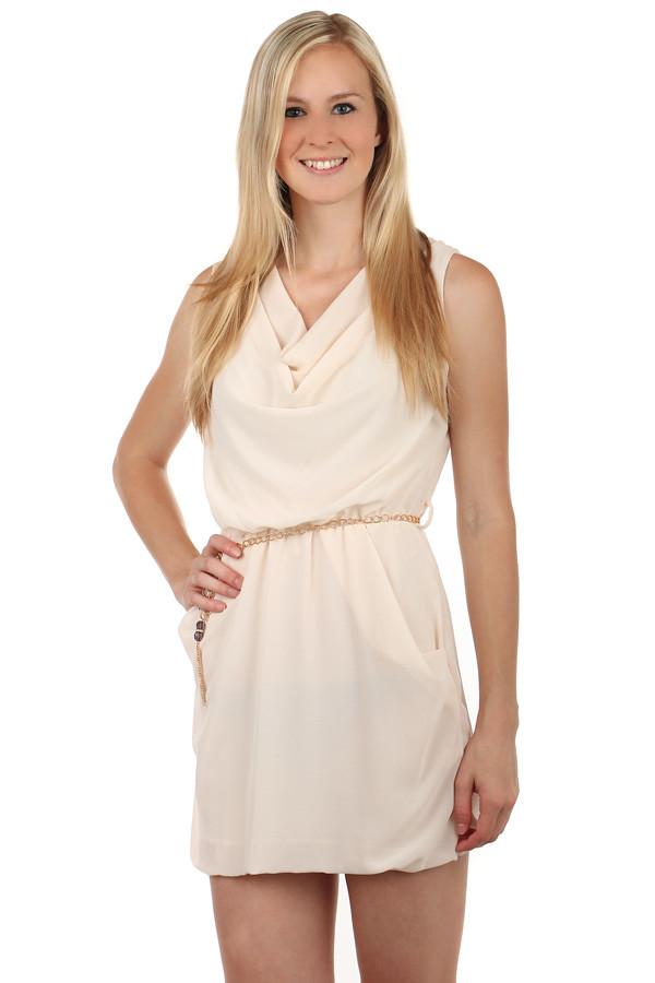 Dámske krátke voľné šaty na leto  a4369f10375