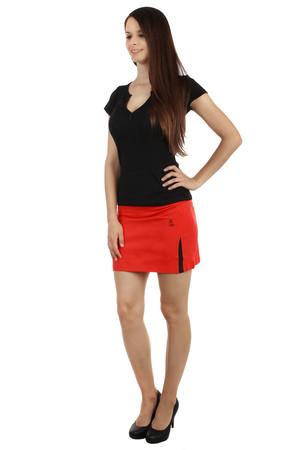 4017cce10ab4 Letná športová bavlnená krátka sukňa